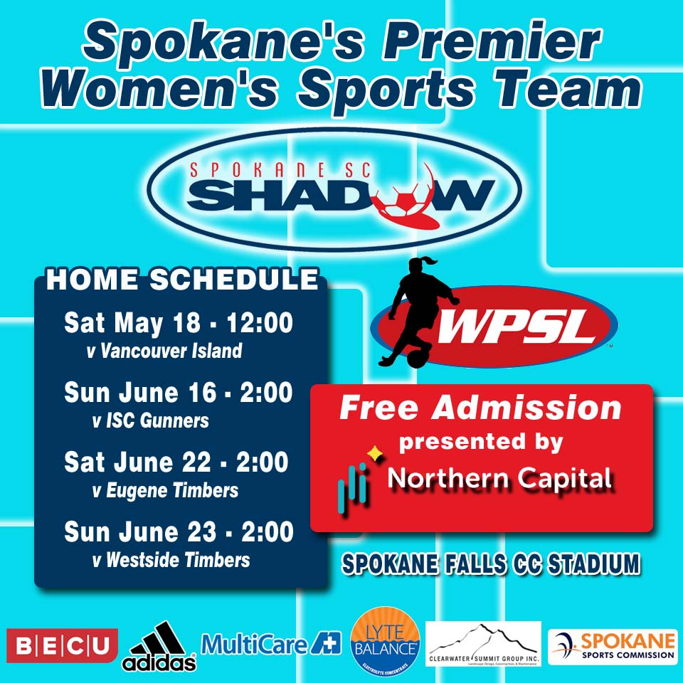 Shadow WPSL Schedule