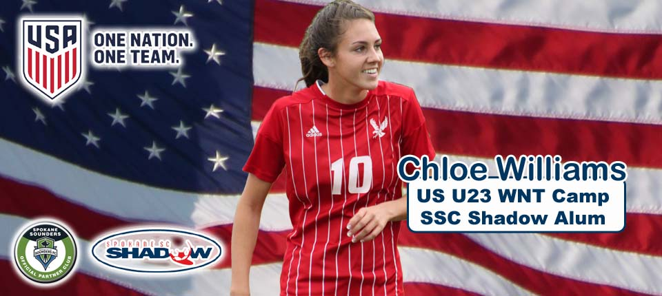 Chloe Williams invited to US WNT U23 Camp; Turnbow scores for U20s
