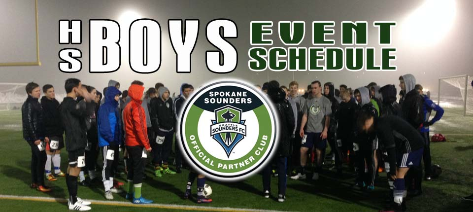 Spokane Sounders announce Older Boys Event Schedule