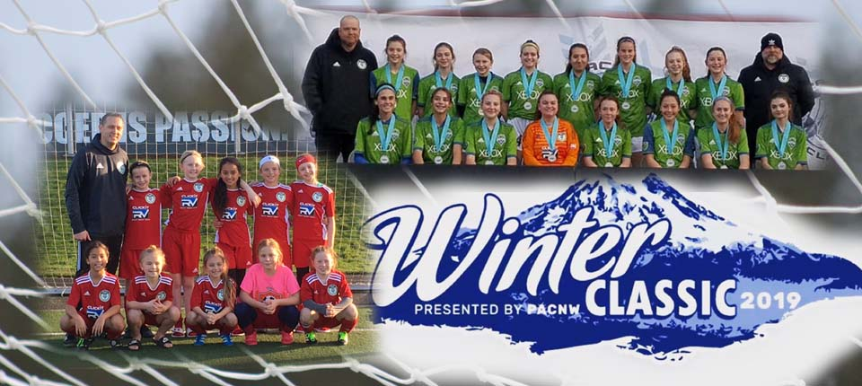 Spokane Sounders Teams Find Success at PacNW Winter Classic