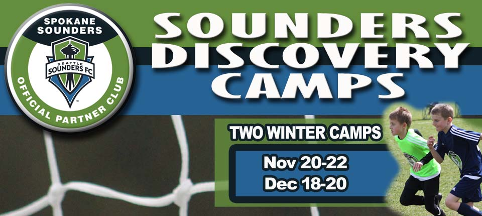 Sign Up for Sounders Discovery Program's U10 Winter Camps!