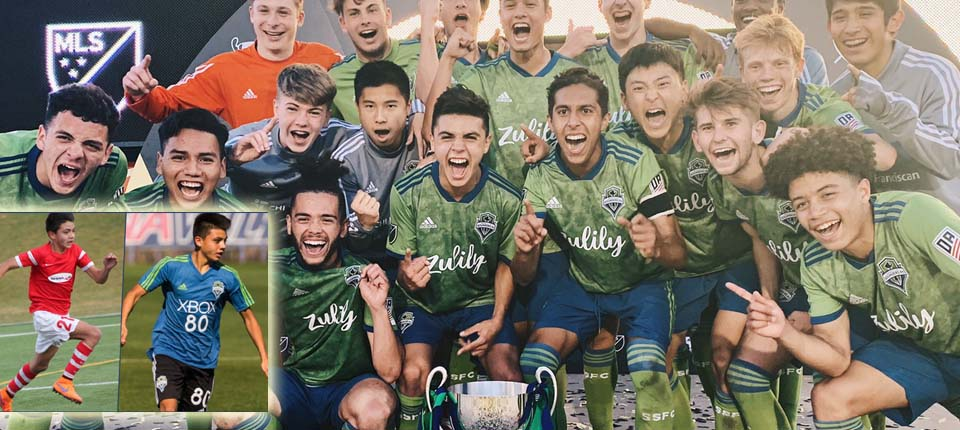 Ray Serrano Propels Sounders Academy To An MLS First