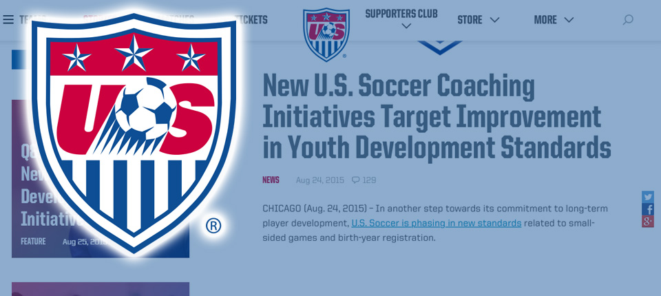U.S. Soccer Changes Coming in 2016