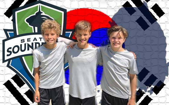 Trio Headed to South Korea with Sounders FC Academy